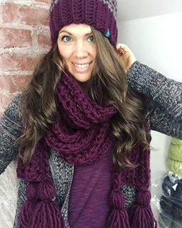 Chunky Patterned Family Toques