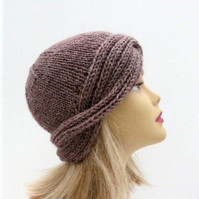Downton Nora Vintage Cloche Knitting Pattern By Grace Sines