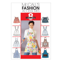 McCall's Misses' Aprons M2947 - Sewing Pattern