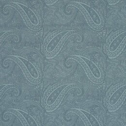 Moda Fabrics 3 Sisters Snowberry Sky Floral Paisley Light Blue