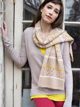 To-Ji Scarf in Berroco Cosma 4 Ply - 138