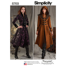 Simplicity 8769 Women's Costume Coats - Sewing Pattern