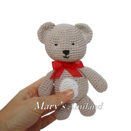 Amigurumi Tino Bear The Ami