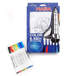 Riley Blake NASA Color me Pillowcase Kit