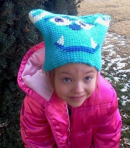 Sack Beanie - Sulley from Monsters Inc Inspired