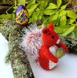 Squirrel Nutkin - Easter Creme Egg Cover
