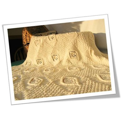 Celtic child: small miracles baby blanket