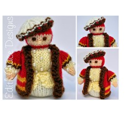 Tudor Gentleman 1536 Doll