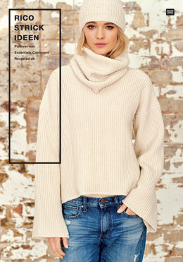 Pullover von Rico in Essentials Cashmere Recycled DK - 96300.1061 - Downloadable PDF