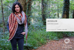 Russler Shawl by Carol Feller - Knitting Pattern For Women in The Yarn Collective