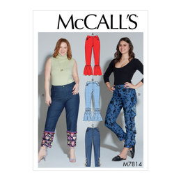 McCall's Misses'/Women's Pants M7814 - Sewing Pattern