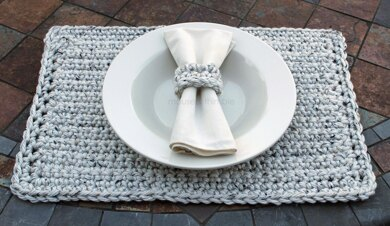 Chunky Placemat & Napkin Ring 2014