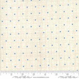 Moda Fabrics Bayberry Chambray Dots Cloud Natural