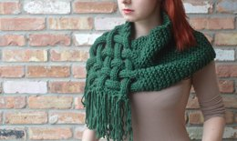 The Celtic Scarf - Knit