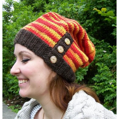 Button-Down Slouch Hat
