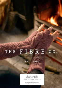 Esk Hause Mitts in The Fibre Co. Lore - Downloadable PDF