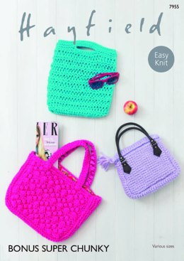 Shoppers in Hayfield Bonus Super Chunky - 7955 - Downloadable PDF