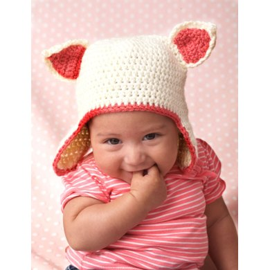 Kitty Hat In Bernat Softee Baby Solids Knitting Patterns