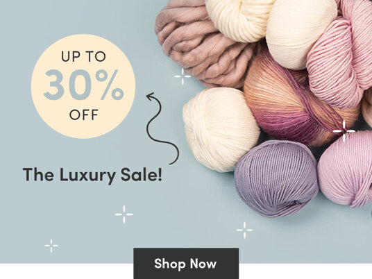Up to 30 percent off luxury sale!