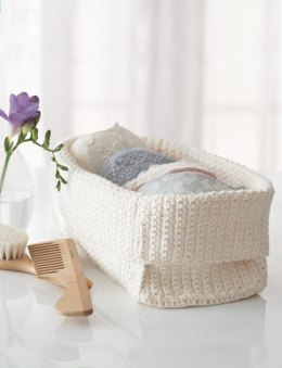 Spa Basket in Lily Sugar 'n Cream Scents
