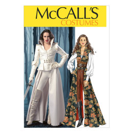 McCall's Misses' Costumes M6819 - Sewing Pattern