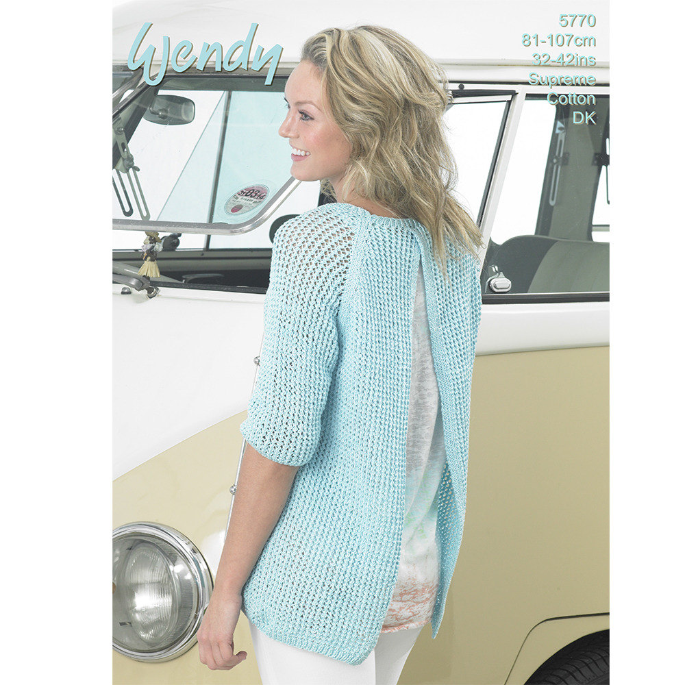Open back sweater in wendy supreme cotton dk knitting patterns open back sweater in wendy supreme cotton dk knitting patterns loveknitting bankloansurffo Choice Image
