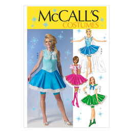 McCall's Misses' Costumes M7101 - Sewing Pattern