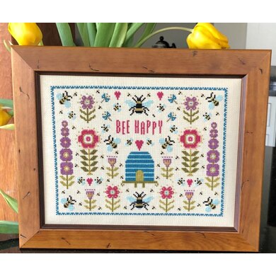 Historical Sampler Company Bee Happy
