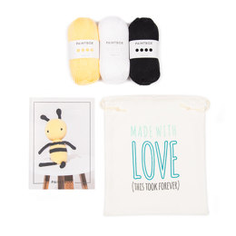 Bobby the Bee Crochet Kit in Paintbox Yarns