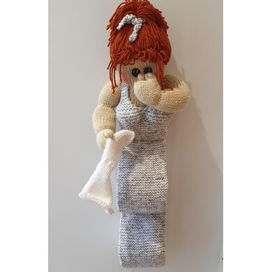 Lucy Loo Toilet Roll Holder