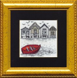Permin Red Boat Cross Stitch Kit