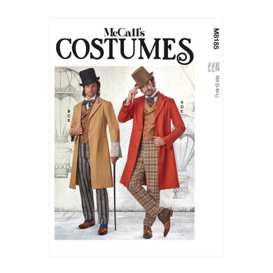 McCall's Men's Costume M8185 - Sewing Pattern