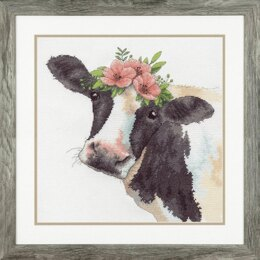 DimensionsSweet CowCounted Cross Stitch Kit - 30.5 x 30.5cm
