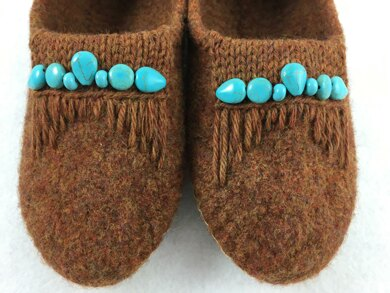 How to create a Moccasin Look