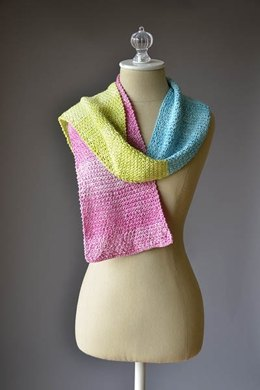 Universal Yarn Color Block Scarf Kit