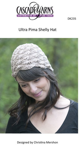 Shelly Hat in Cascade Ultra Pima - DK235