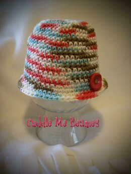 Summer Cloche or Flapper Hat