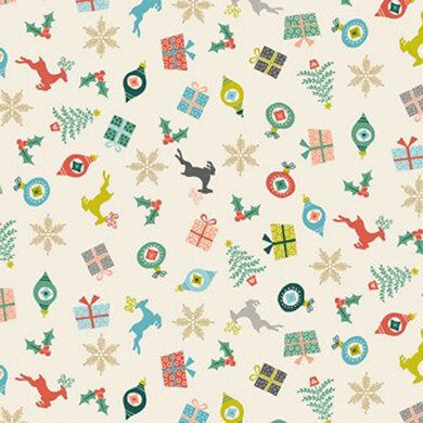 Makower Christmas Special - Merry Scatter