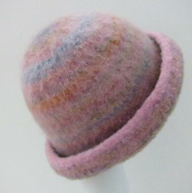 Felted Bowler Three Styles