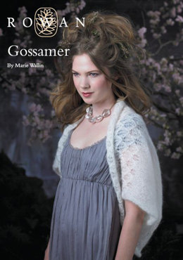 Gossamer Shrug in Rowan Kidsilk Haze