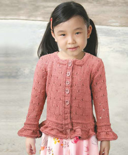Red Robin Child Cardigan in Knit One Crochet Too Dungarease - 2020