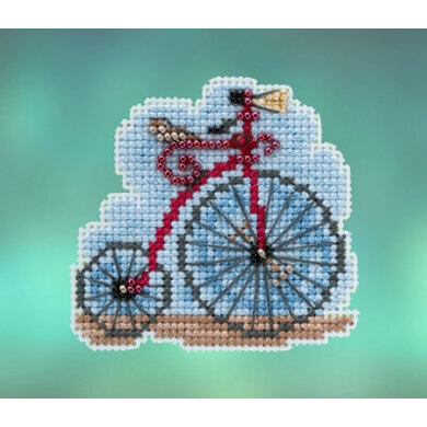 Mill Hill Spring Bouquet 2020 - Vintage Bicycle Seasonal Ornament