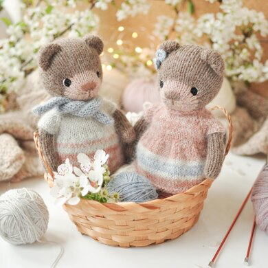 Theodore and Felicia the Little Bears