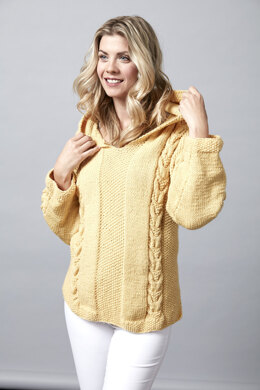 Boldly Glows - Sporty Tunic in Sugar Bush Yarns Bold - 658503 - Downloadable PDF