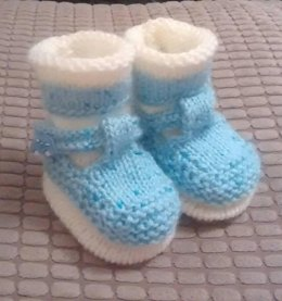 T Bar Shoes and matching Socks Newborn, 0-3mths and 0-6mths