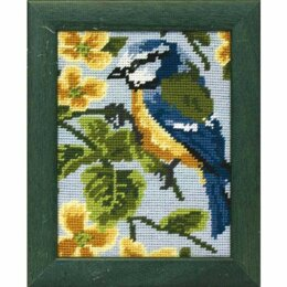 Anchor Blue Tit Tapestry Kit - 14 x 18 cm