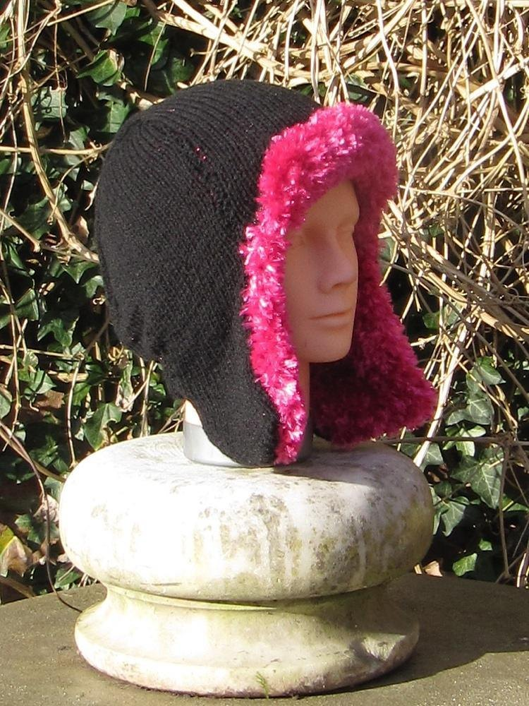 Knit And Purl Pattern : Trapper Hat Knitting pattern by madmonkeyknits Knitting Patterns LoveKnit...