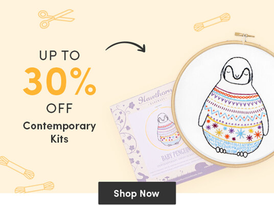Up to 30 percent off contemporary kits!