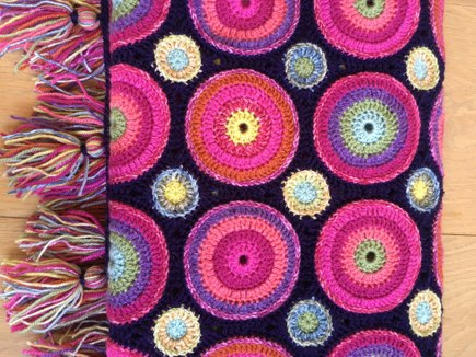 Magic Circles Blanket Crochet Project By Katie Lovecrochet