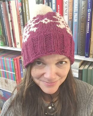 Chunky Snowflake Hat Knitting pattern by Monica Russel